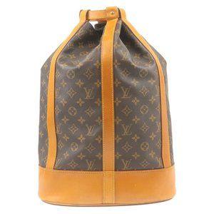 Authentic Louis Vuitton Randonnee GM w/ wallet
